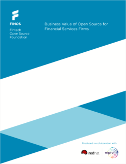Business Value of Open Source for Financial Services Firms Download Page