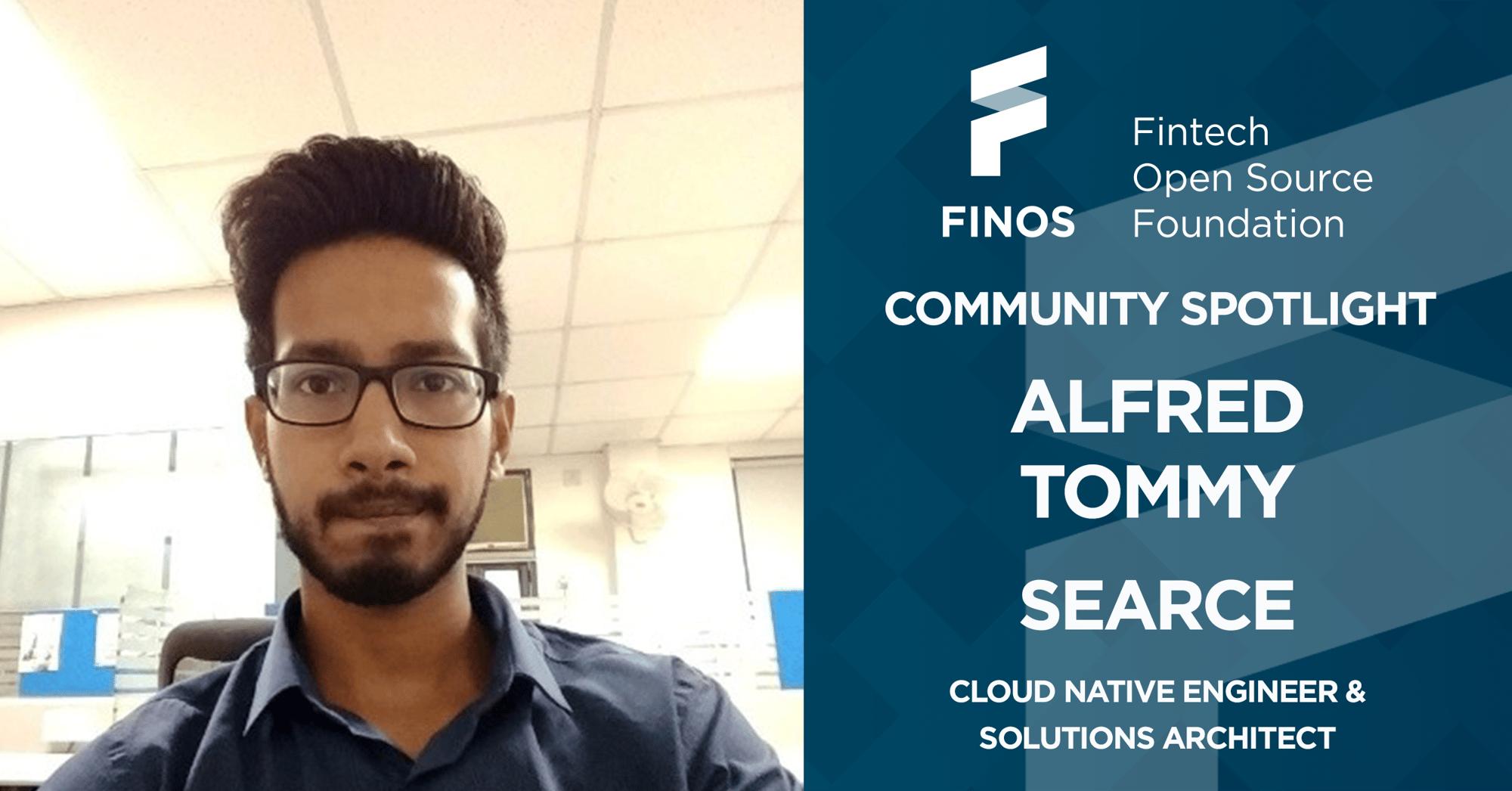 FINOS-community-spotlight-alfred-tommy