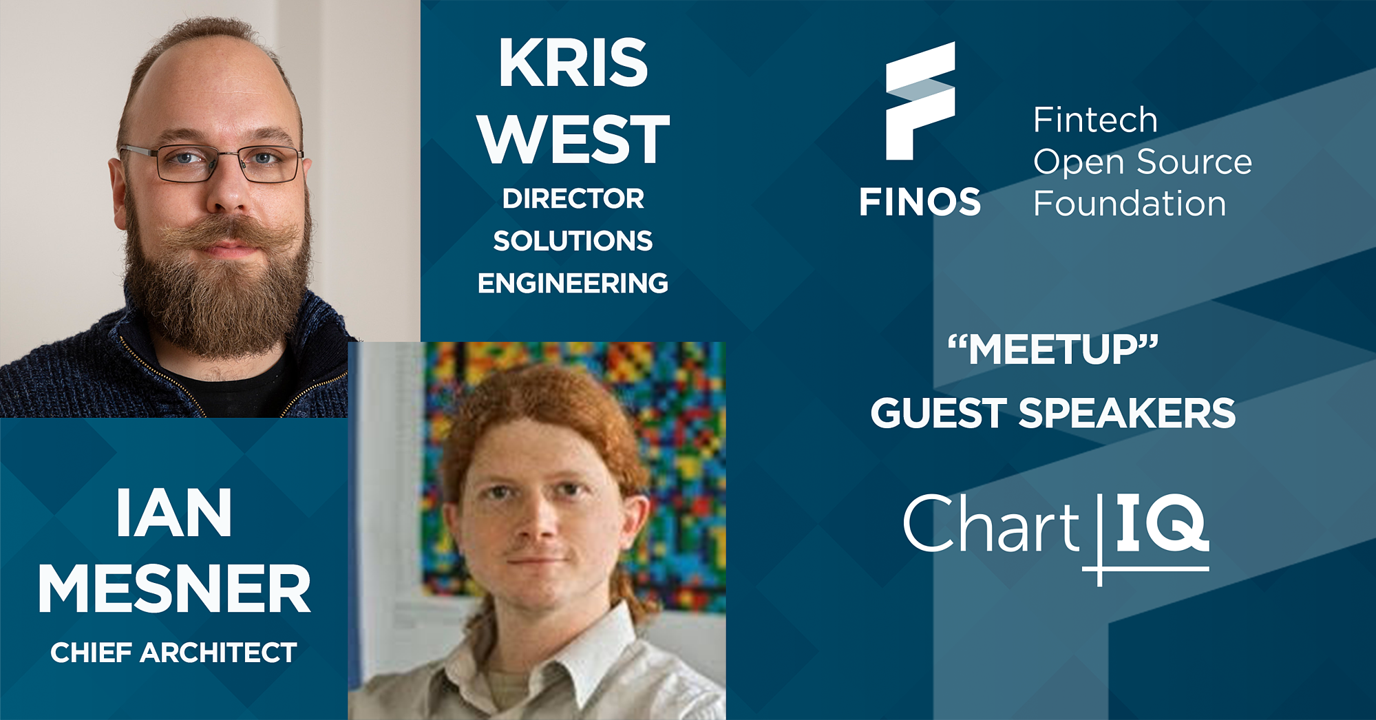FINOS-meetup-guest-speakers-kris-west-ian-mesner-social