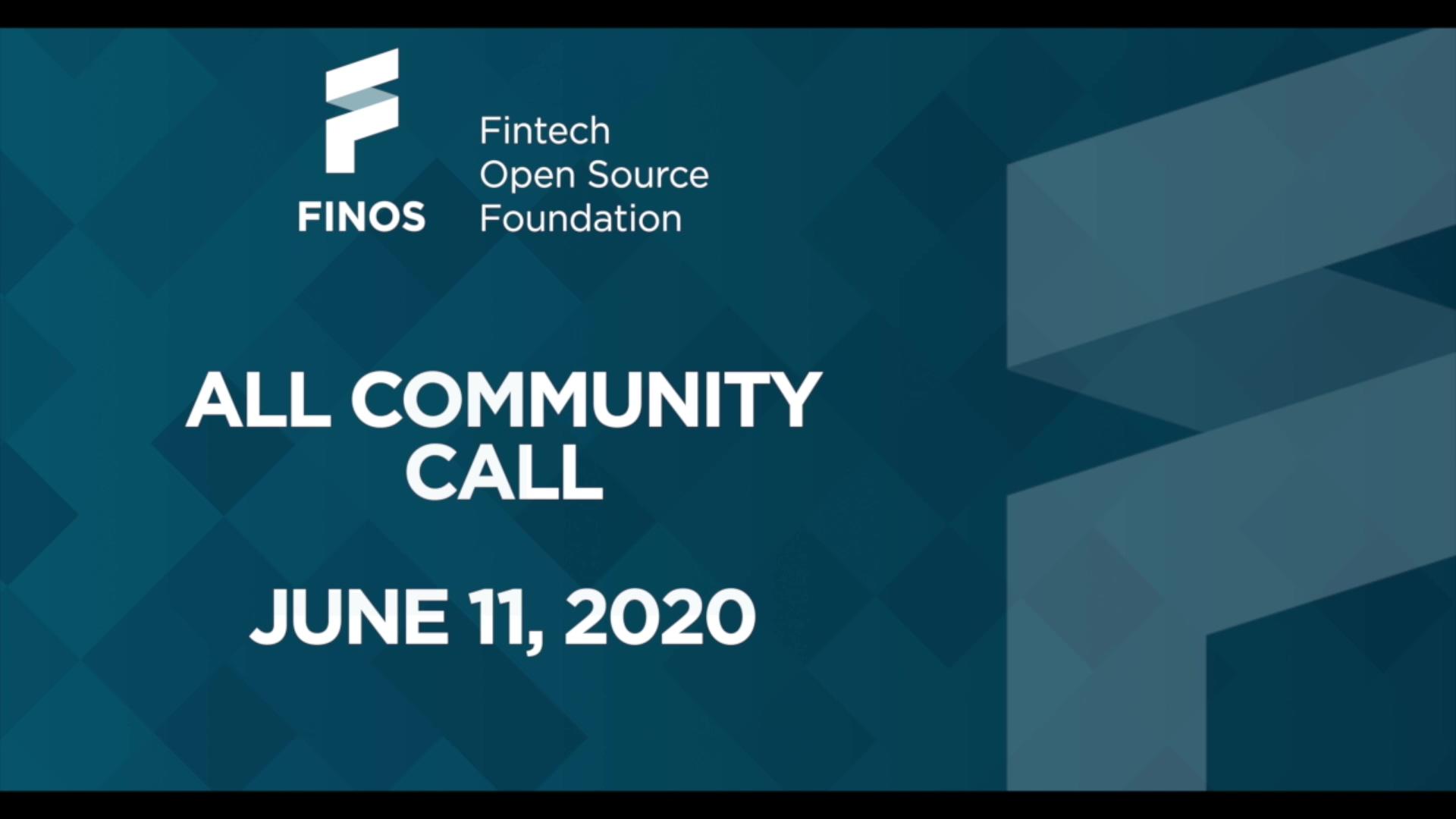 FINOS All Community Call - 11 June 20-thumb