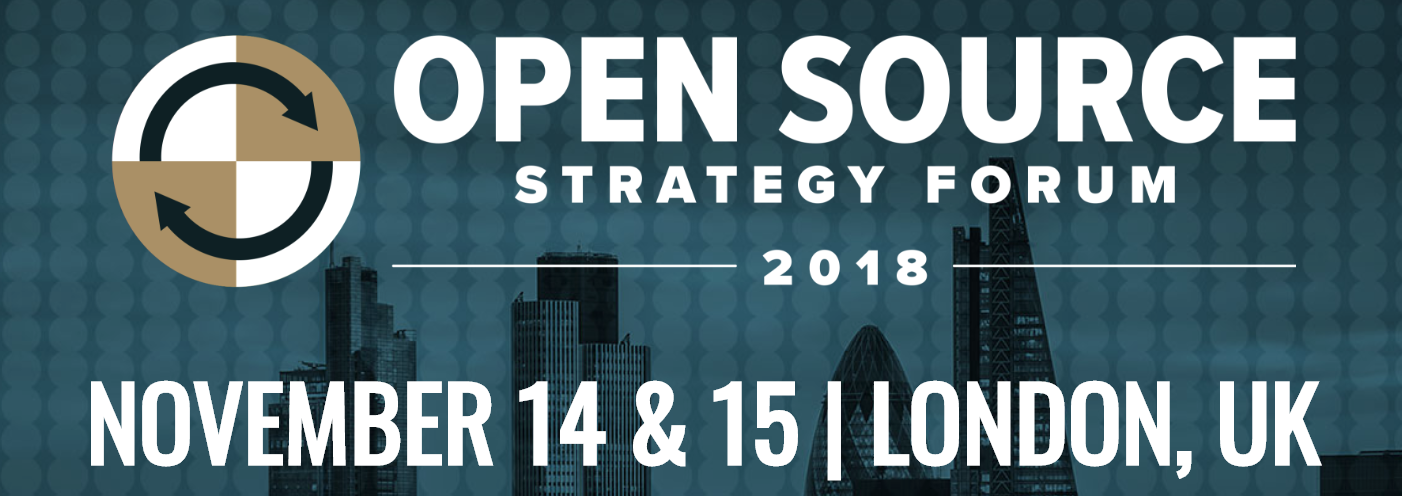 2018-11-14 Open Source Strategy Forum